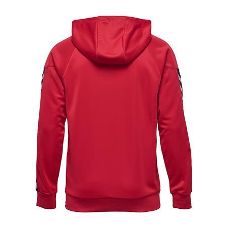 Auth. charge zip hoodie true red-107546