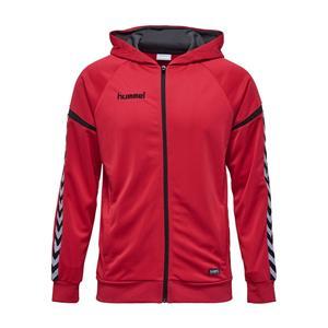 Auth. charge zip hoodie true red-116991