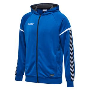 Auth. charge zip hoodie true blue-107526